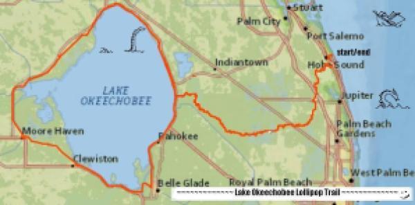 The Lake Okeechobee Lollipop